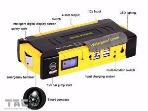 China Life Saving Hammer Pocket car jump starter portable 5V Output , vehicle jump start packs on sale