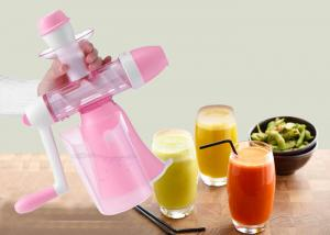 China Home Style Slow Cold Press Fruit and Vegetables Juice Maker Mini Manual Juice Machine on sale