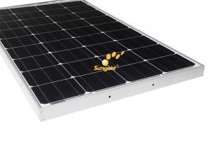 Quality Photovoltaic 100w Mono Solar Panels , Monocrystalline Silicon Solar Cells for sale