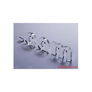China acrylic website letters on sale