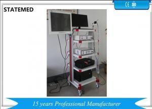 China Video Bronchoscope CCD Endoscopy Camera System High Definition LED Cold Light Source on sale