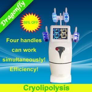 Quality 装置パテントを細くする卸し売り専門のセルライトの減少Cryolipolysis Cryo for sale