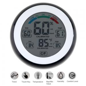 China SN226 LCD Digital Multifunctional Touch Thermometer Support Humidity Measurement with Magnets Hanging Hole and Bracket on sale