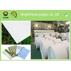 China 787mm Postcard Printer Paper Jumbo Rolls , Lightweight Banner Printing Paper on sale