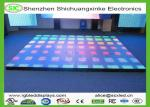 China LED Interactive Dance Floor Rental / LED DJ Stage Dance Floor 500*500 With 15W Max Power wholesale