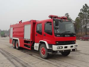 China rescue water cannon firefighter truck brand new standard fire fighting truck dimensions for sale on sale