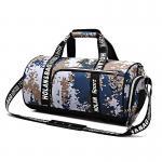 Мужчина/женщина подгоняли емкость сумки перемещения отдыха ручную большую для хранения тренировки багажа