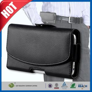 China Black Mobile Phone Covers  Iphone 6s Belt Clip Cell Phone Holsters on sale