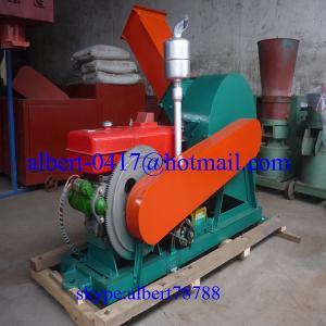 China Diesel Engine Driven Wood Pulverizer on sale