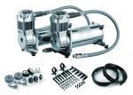 Compresseur de l'air 12v portatif de puissance forte compresseur d'air de réservoir de 2,5 gallons/réservoir de double