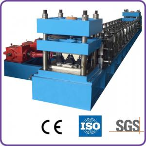 Quality Automatic PLC Control Highway Guardrail Roll Forming Machine With 10-12 m/min Working Spee for sale