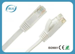China 24AWG Stranded Cat6 Ethernet Patch Cable / UTP Patch Cable With RJ45 Connector on sale