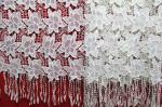 Garment Accessories Chemical Lace Fabric  Water Soluble Embroidery  lace fabric  in Different  Color
