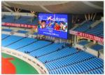 China Stadium Perimeter LED Display RGB Programmable Wireless SMD 3535 Weather Resistance wholesale