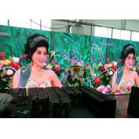 Super Brightness SMD LED Video Screens With 5 - 35m Viewing Distance P4.81 Flexible Operation