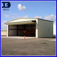 China Q235 Assembled Steel Aircraft Hangar , Steel Airplane Hangars on sale