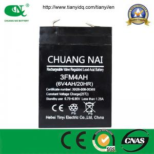 China Electric Scale Battery 6V4AH Sealed Lead Acid Battery, VRLA/AGM/Mainenance Free/UPS Battery on sale
