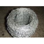 Сверхмощный колючий провод для вина, провод оцинкованной стали тюрьмы низкоуглеродистый стальной