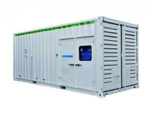 China 1000kva 800kw transportó en contenedores el generador diesel eléctrico silencioso con algodón ignífugo on sale