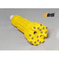 6 Inch Hard Rock Borehole Drilling DTH Drill Bits With Tungsten Carbide Material