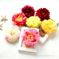 China 2014 Hot sale peony artificial flower heads on sale