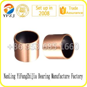 China Solid Self Lubricating High Performation PTFE  bearing bushing / Sliding bearing / Oil Bearing 10*8*8mm on sale
