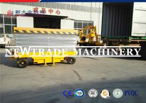 China CE ISO Hydraulic Scissor Lift Electric Mini Self Propelled Scissor Lift With Wheel on sale
