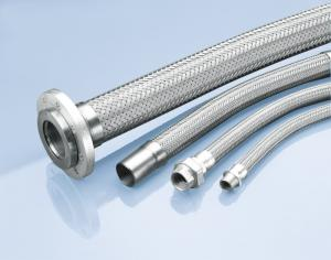 China Stainless steel flexible tubings, hose joint on sale
