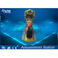 Indoor Coin Operated Little Motor Racing Game Machine With 22 Inch Screen