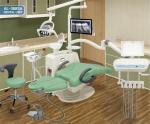 Chaise dentaire d'usine