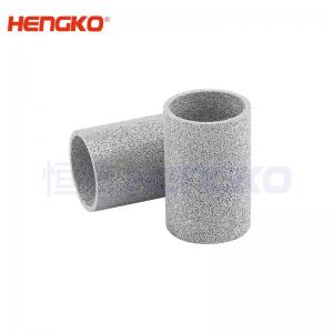 China HENGKO Stainless Steel Mesh filter element - High Quality Stainless Steel sintered powder/Wire Mesh filter Tube on sale