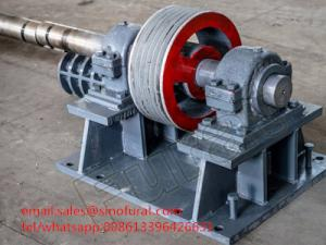 Light Type Centrifugal Spinning Concrete Spun Pole Machine for sale