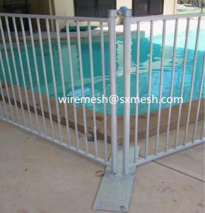 China la venta caliente 4x4 galvanizó el cercado plegable temporal de la piscina de la seguridad (fabricación ISO9001) on sale