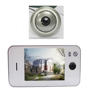 China Islamic product Video Peephole Muslim Doorbell Viewer convert to TV function on sale