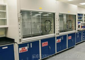 China 1.0mm Cold Rolled Steel Benchtop Fume Hood Professional For University Research on sale