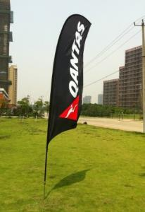 China Custom flying banner,Outdoor flags, portable teardrop flag,new printed flags on sale