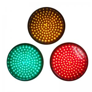 China 200mm Red Signal Blinking LED Traffic Light Module, Pixel Cluster Semaforo on sale