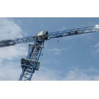 Painted QTZ Series Construction Tower Crane 150M Height With 5 Wall-attached Frame