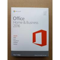 Original Computer Software System Office 2016 Home And Business Product Key For MAC