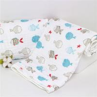 China Unique Cute Baby Swaddle Blankets , Muslin Cloth Baby Wraps Super Absorbent on sale