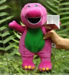 los 25cm Barney púrpura suave rellenaron los juguetes de la felpa de la historieta para la colección
