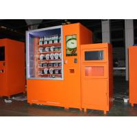 China Airport Custom Microwave Sandwich Vending Machine With Sales Report , Automated Kiosk on sale