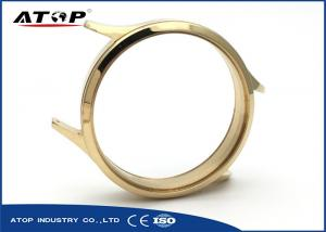 China Hand Watchcase Vacuum Magnetron Sputtering Coating Machine With Gold Color on sale
