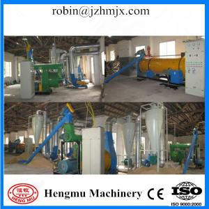 China Organic application computer operating procedures grass wood pellets production line on sale