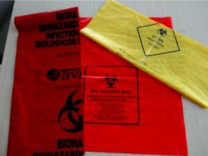 China Autoclavable Biohazard Bags, Medical Waste Bags, Hot sales in United States 44Gallon Biohazardous Waste Bag \PE type on sale