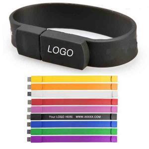 China Commande d'USB de bracelet de silicone on sale