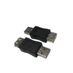 China USB AM to AF Adapter for Computers (Black) easy for installation on sale