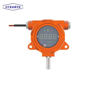 China OC-F08 Fixed Chlorine Dioxide (ClO2) gas detector with 4~20mA and RS485 signal output on sale