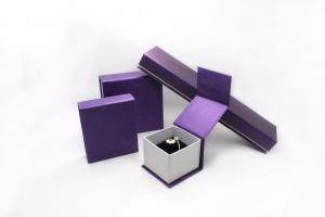 China Fashion Paper Earring Jewelry Box , Handmade Jewellery Presentation Boxes With Logo Printed on sale