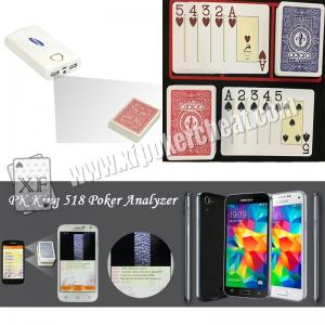 China Modiano Adjara Plastic Marked Playing Cards for Poker Scanner Analyzer Reader on sale